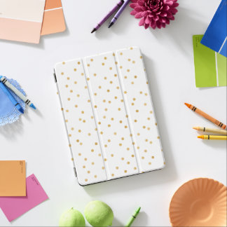 Capa Para iPad Pro Pontos modernos elegantes dos confetes do ouro