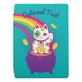 Capa Para iPad Pro Pote de boa sorte de Maneki Neko do gato de ouro