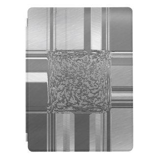 Capa Para iPad Pro prata 03 da arte do metal