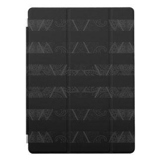"Capa Para iPad Pro Preto Embellished Argyle listrado 12,9 """