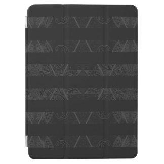 "Capa Para iPad Pro Preto Embellished Argyle listrado 9,7"""