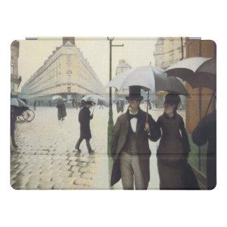 Capa Para iPad Pro Rua de Paris, dia chuvoso