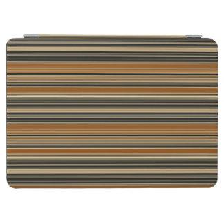 Capa Para iPad Pro Sela Brown e teste padrão listrado preto