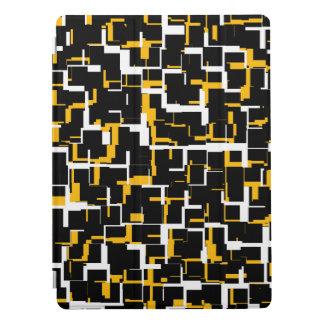 Capa Para iPad Pro Teste padrão amarelo branco preto de Digitas Camo