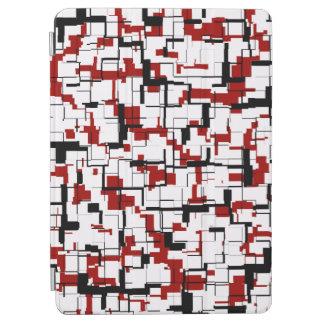 Capa Para iPad Pro Teste padrão vermelho branco preto de Digitas Camo