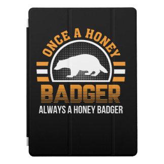 Capa Para iPad Pro Uma vez de mel do texugo texugo de mel sempre