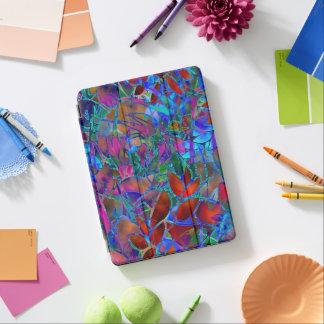 """Capa Para iPad Pro vitral floral do pro cobrir iPad do iPad 12,9 do"""""""