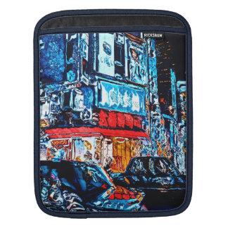 Capa Para iPad Reflexões de néon