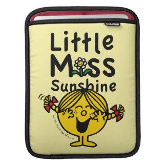 Capa Para iPad Senhorita pequena pequena Luz do sol Riso da