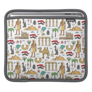 Capa Para iPad Símbolos da cor do teste padrão de Egipto
