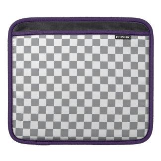 Capa Para iPad Tabuleiro de damas cinzento