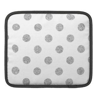 Capa Para iPad Teste padrão de bolinhas de prata elegante do