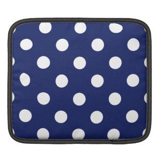 Capa Para iPad Teste padrão de bolinhas dos azuis marinhos e do