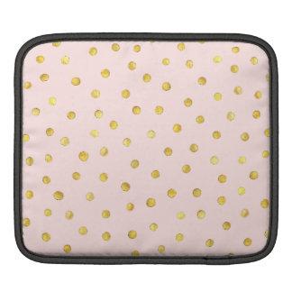 Capa Para iPad Teste padrão de pontos elegante dos confetes da