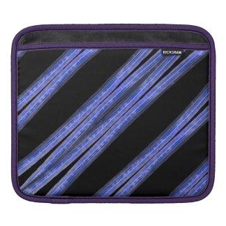 Capa Para iPad Teste padrão diagonal escuro das listras