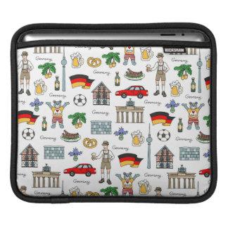 Capa Para iPad Teste padrão dos símbolos de Alemanha |
