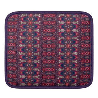 Capa Para iPad Teste padrão floral étnico abstrato colorido da