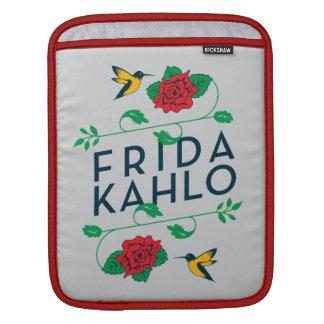 Capa Para iPad Tipografia floral de Frida Kahlo |