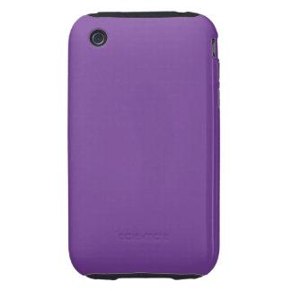 Capa Para iPhone 3 Tough Cor roxa empoeirada
