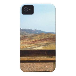 Capa Para iPhone 4 Case-Mate A opinião do banco em colinas pintadas negligencia