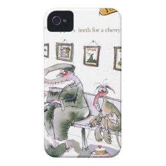 Capa Para iPhone 4 Case-Mate amor yorkshire que pede os dentes dos whippets