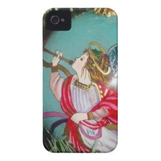 Capa Para iPhone 4 Case-Mate Anjo do Natal - arte do Natal - decorações do anjo