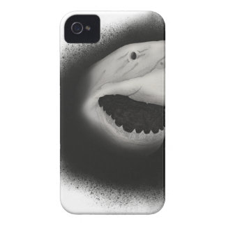 Capa Para iPhone 4 Case-Mate Ataque coberto do tubarão