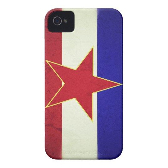 Capa Para iPhone 4 Case-Mate Bandeira Iugoslávia