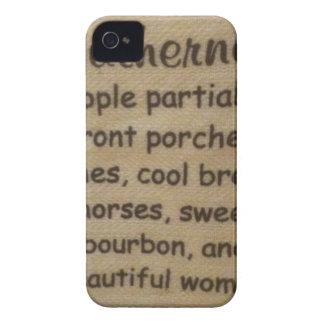 Capa Para iPhone 4 Case-Mate Calão do sul