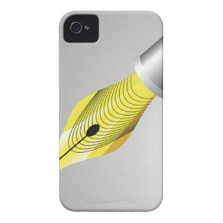 Capa Para iPhone 4 Case-Mate caneta de fonte 95Shiny Nib_rasterized