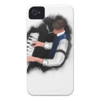 Capa Para iPhone 4 Case-Mate Cantor do piano