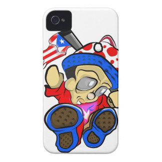 Capa Para iPhone 4 Case-Mate Caráter bonito de Puerto Rico com bandeira