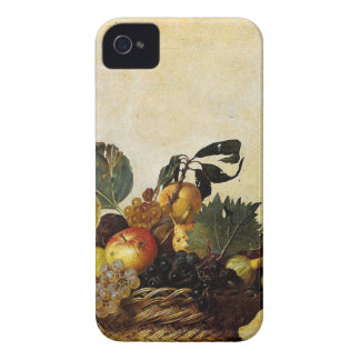 Capa Para iPhone 4 Case-Mate Caravaggio - cesta da fruta - trabalhos de arte