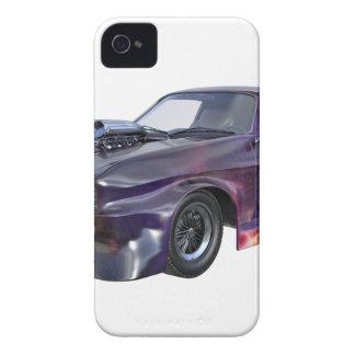 Capa Para iPhone 4 Case-Mate Carro 2016 roxo do músculo da galáxia