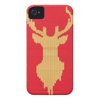 Capa Para iPhone 4 Case-Mate Cervos feitos malha