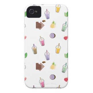 Capa Para iPhone 4 Case-Mate Chá da bolha de Kawaii