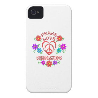 Capa Para iPhone 4 Case-Mate Cheerleading do amor da paz
