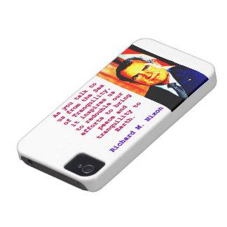Capa Para iPhone 4 Case-Mate Como você nos fala - Richard Nixon
