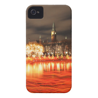 Capa Para iPhone 4 Case-Mate Copenhaga, Dinamarca no Natal
