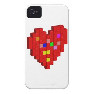 Capa Para iPhone 4 Case-Mate coração de 8 bits