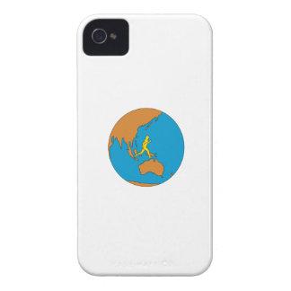 Capa Para iPhone 4 Case-Mate Corredor de maratona que funciona em torno do