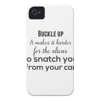 Capa Para iPhone 4 Case-Mate Curvatura acima. Faz mais duro para os aliens a