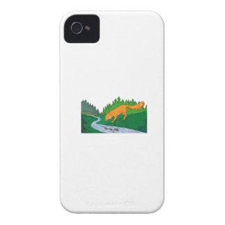 Capa Para iPhone 4 Case-Mate Desenho da angra das madeiras do rio do bebendo do