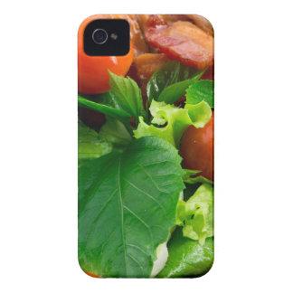 Capa Para iPhone 4 Case-Mate Detalhe de uma placa com tomates de cereja, ervas