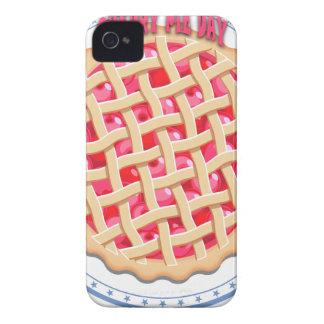 Capa Para iPhone 4 Case-Mate Dia da torta da cereja - dia da apreciação