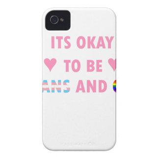 Capa Para iPhone 4 Case-Mate É aprovado ser o transporte e o gay (v1)