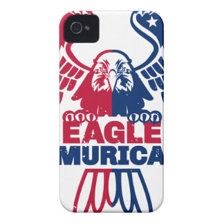 Capa Para iPhone 4 Case-Mate Eagle Murica