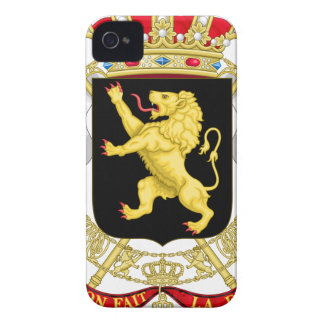 Capa Para iPhone 4 Case-Mate Emblema belga - brasão de Bélgica