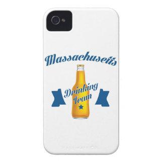 Capa Para iPhone 4 Case-Mate Equipe do bebendo de Massachusetts