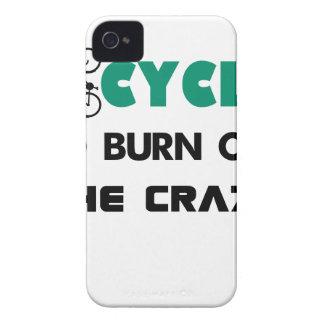 Capa Para iPhone 4 Case-Mate Eu dou um ciclo para consumir a louca, bicicleta